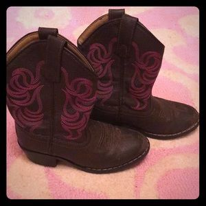Smoky Mountain Cowboy Boots size 11